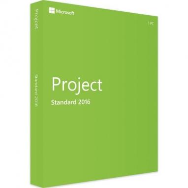 Microsoft Project Standard 2016 Klucz MAK 50 aktywacji